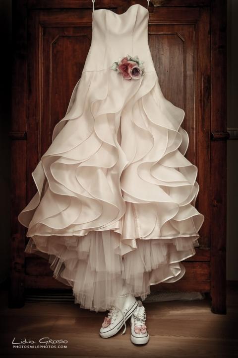 Fotografo matrimoni Torino Vestito Sposa