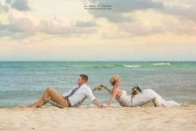 Scott and Bee beach wedding Secret Silversands