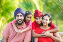 Lidia Grosso Photography, Fotografo Cancun, East Indian Punjabi Sikh family portraits Cancun