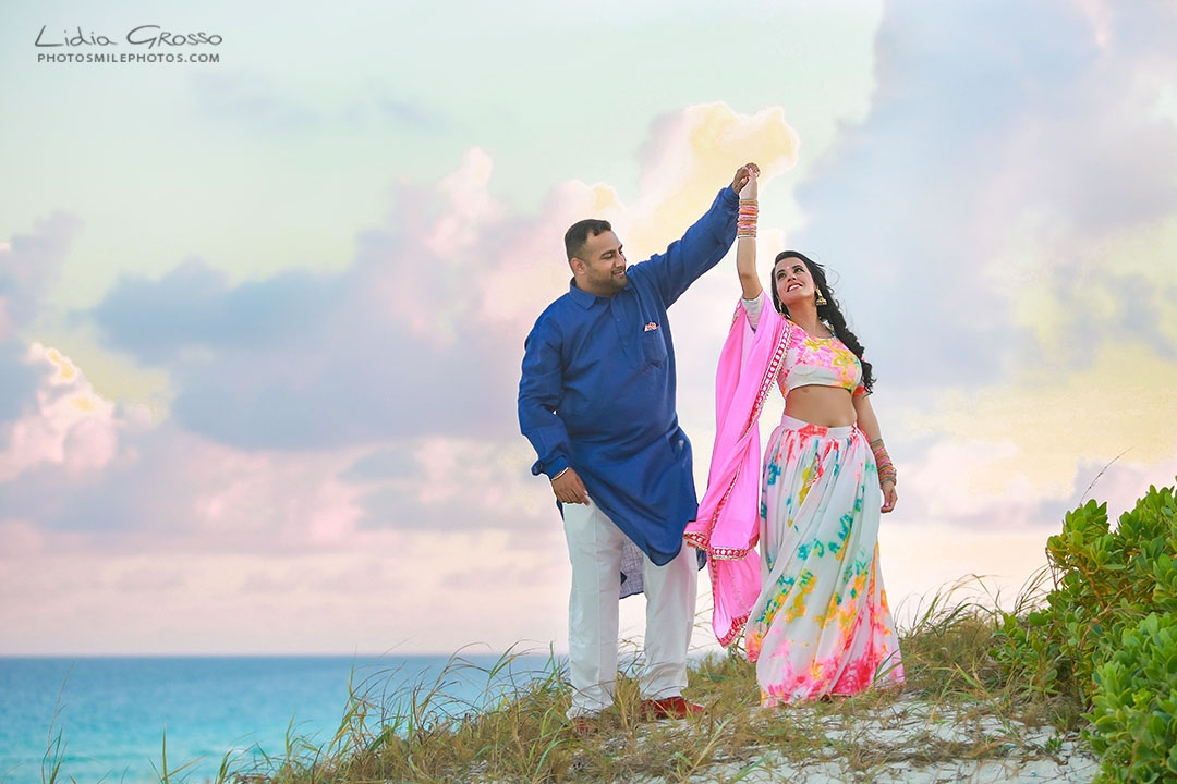 Indian weddings Cancun photographer