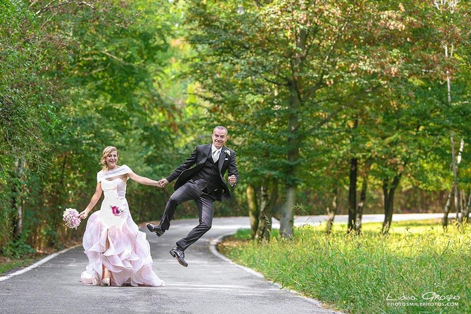 Fotografo matrimoni Torino La Mandria