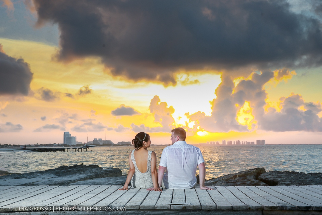 Wedding photography Riu Cancun