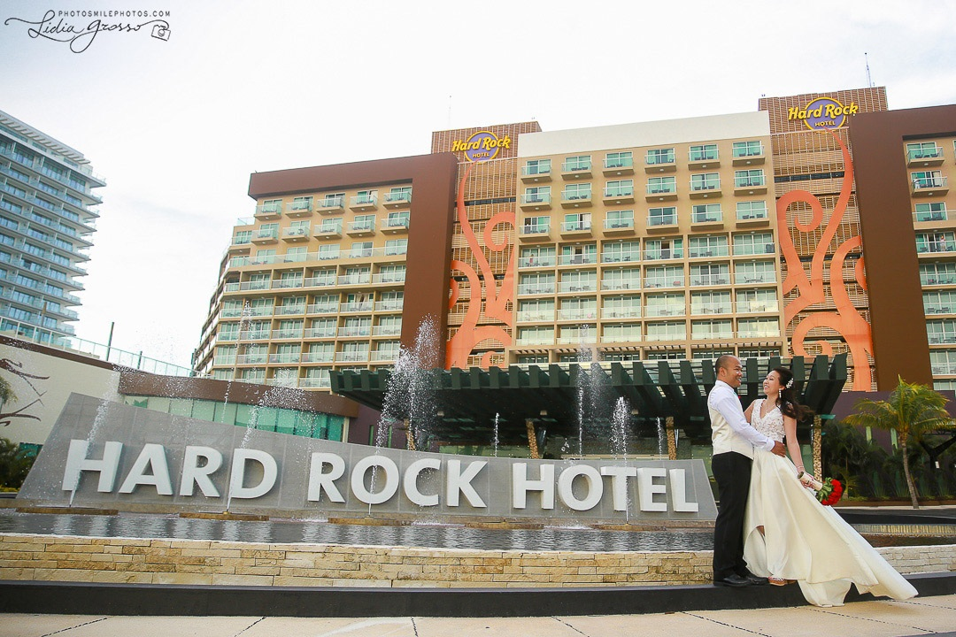 Hard Rock Cancun Wedding Photographer