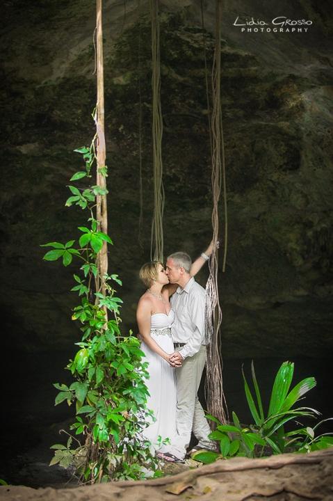 Cenote Wedding Photography Riviera Maya