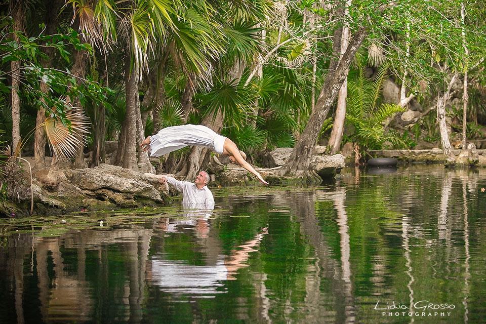Cenote Wedding Photography Riviera Cancun