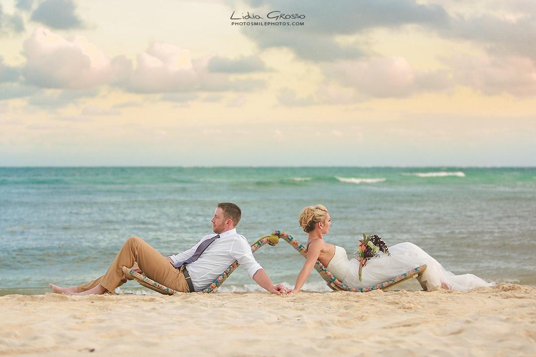 Destination beach wedding Secret Silversands Riviera Maya