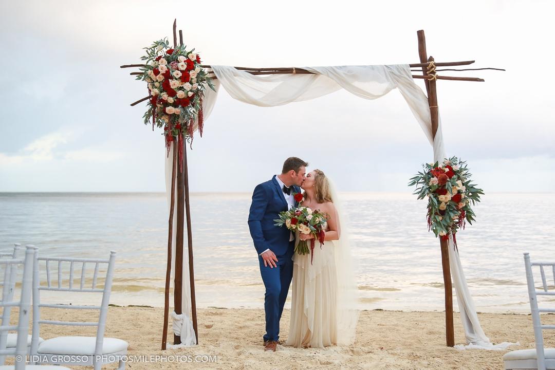 Destination Wedding photos Zoetry Riviera Maya