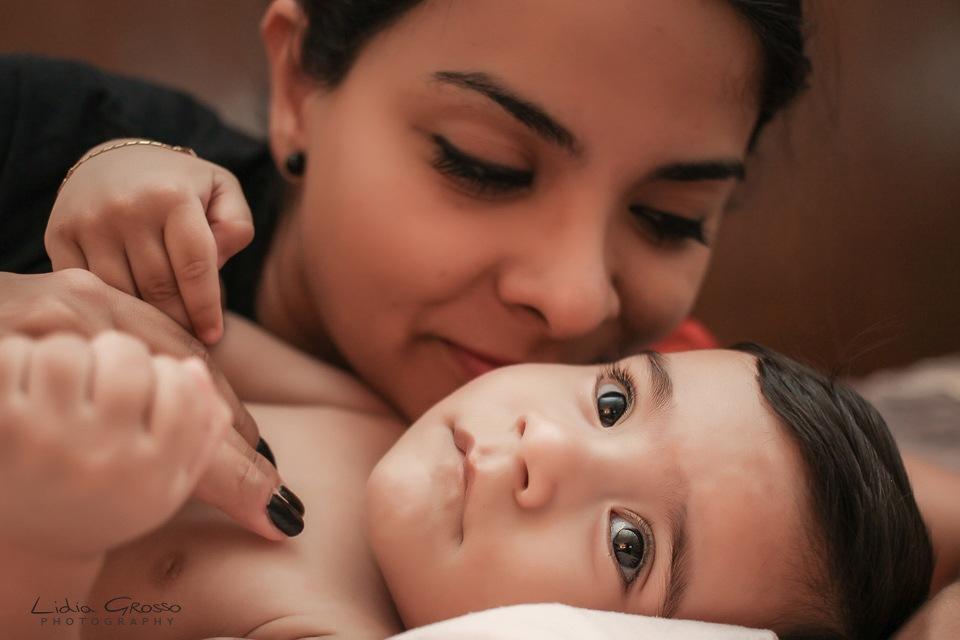 Fotografia creativa bebes Cancun