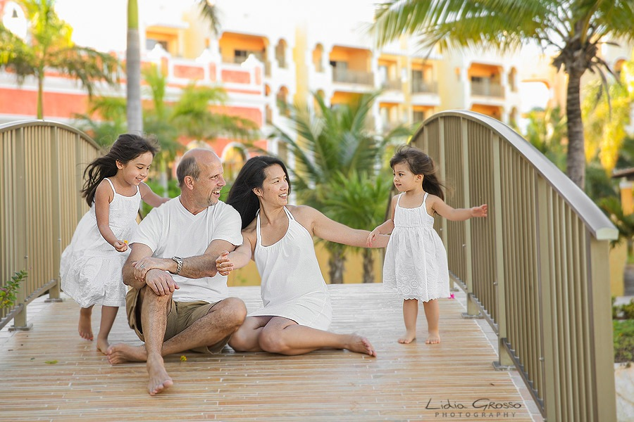 Family portraits Cancun Royal Haciendas