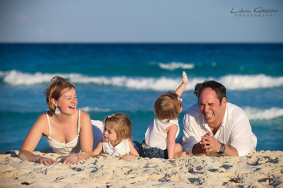 Cancun Family Portraits Photographer
