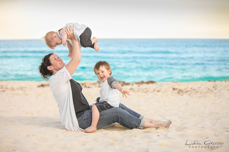 Family portraits Brisas Cancun