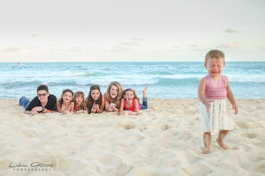 Iberostar Riviera Maya Family portraits