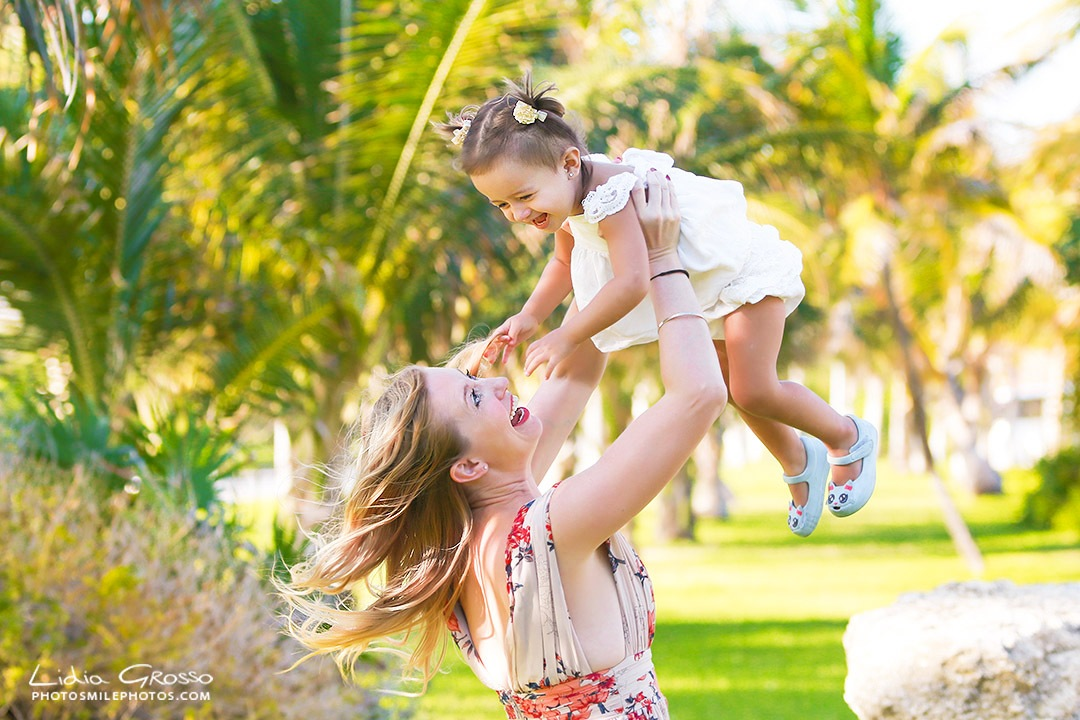 Mom and daughter session Cancun
