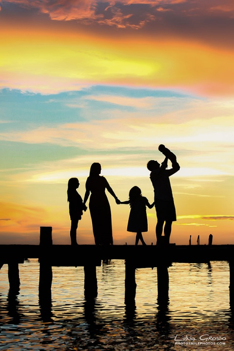 Family photography Isla Mujeres