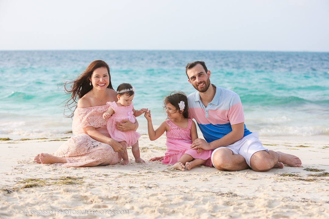 Riu Cancun Las Americas family portrait
