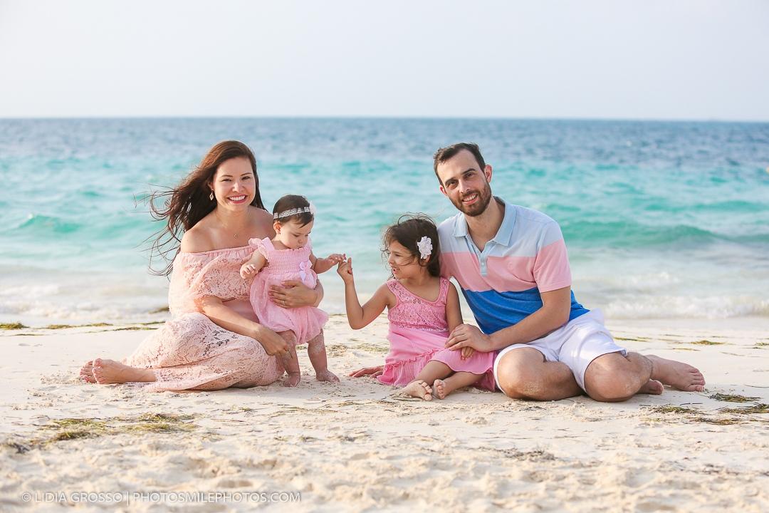Riu Cancun Las Americas family portrait
