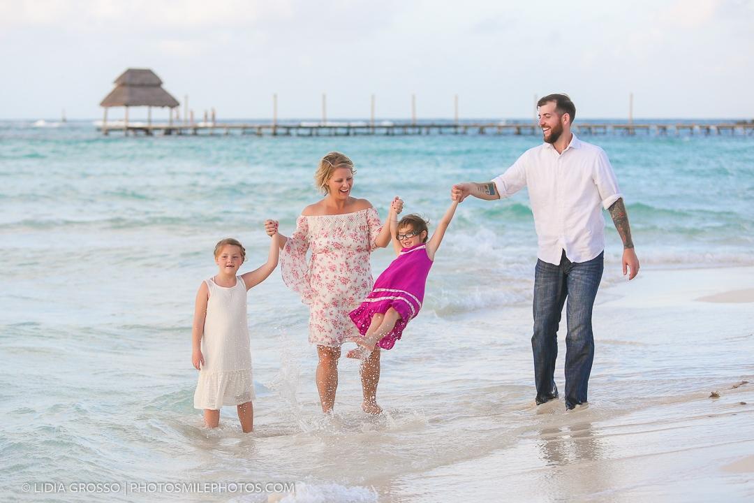 Mia reef Isla Mujeres family vacation photos