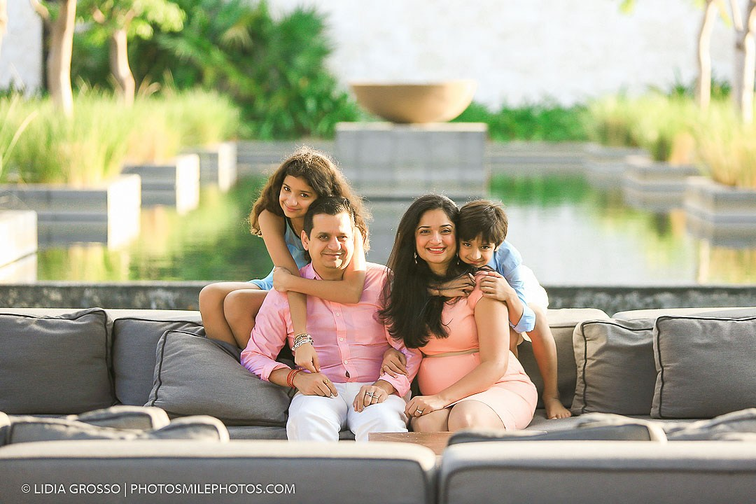 Family portraits Nizuc Resort Cancun