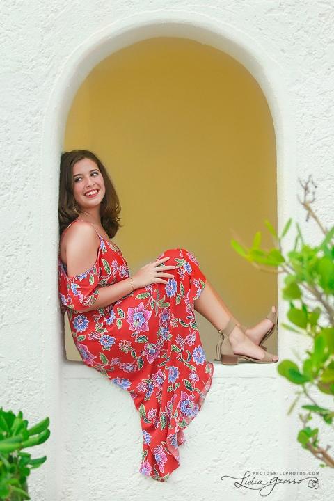 Senior photos Royal Solaris Cancun