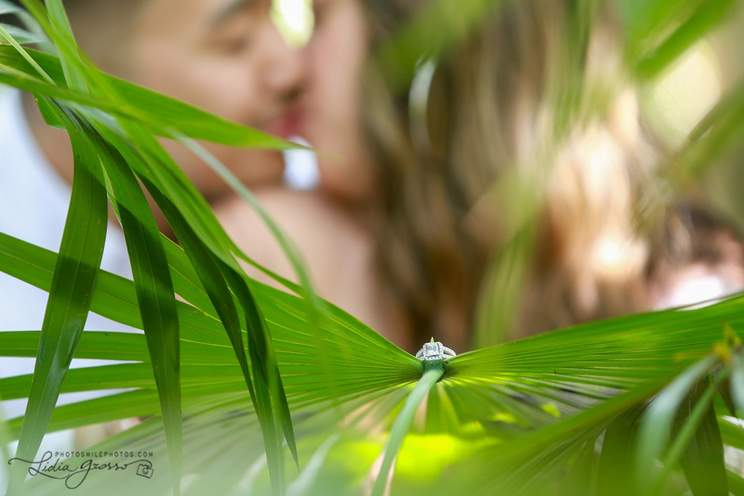 cenote engagement photo session cancun