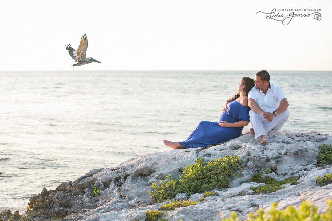 Maternity sessions Hyatt Ziva Cancun