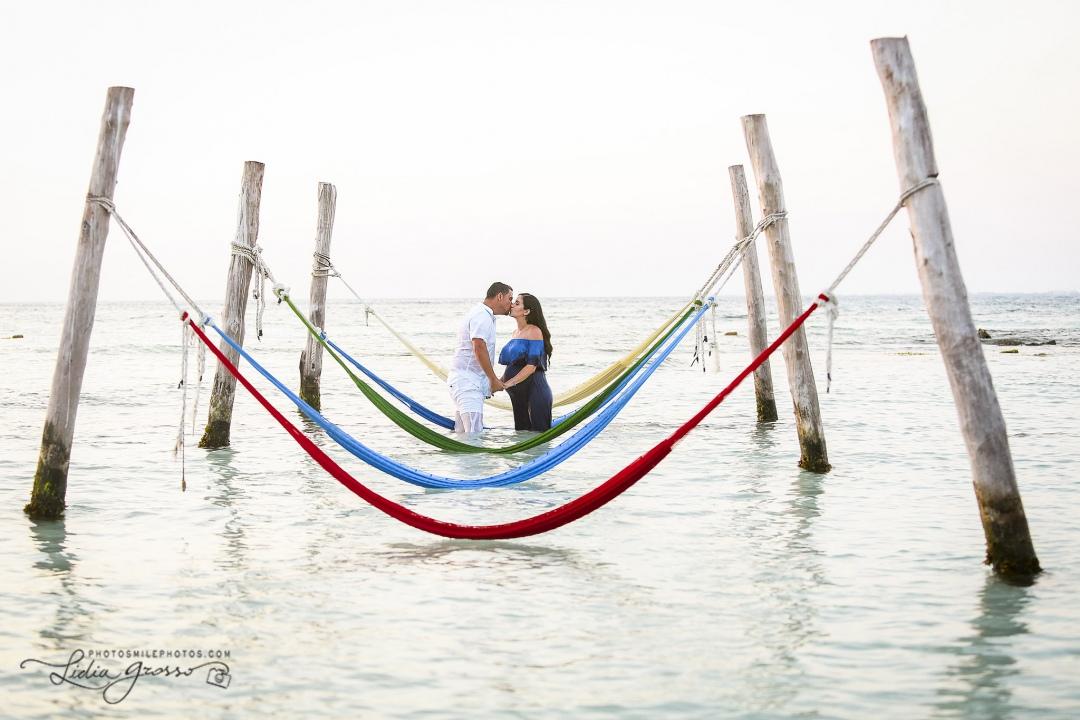 Maternity sessions Hyatt Ziva Cancun