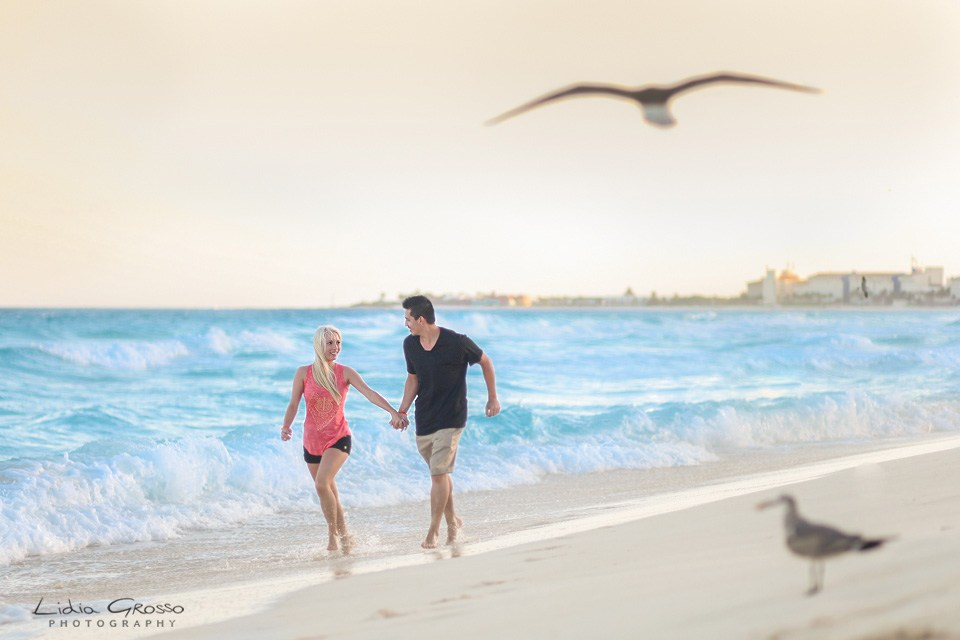 Cancun engagement session, Couples portraits Cancun, engagements sessions Cancun and Riviera Maya, fotografo parejas Cancun, Lidia Grosso Photography