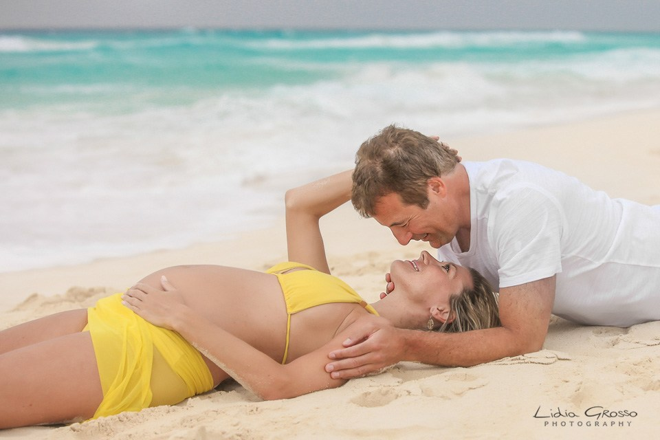 maternity photography in Cancun