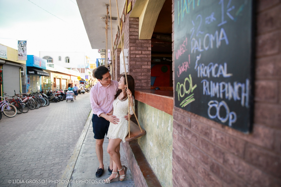couples portraits Isla Mujeres