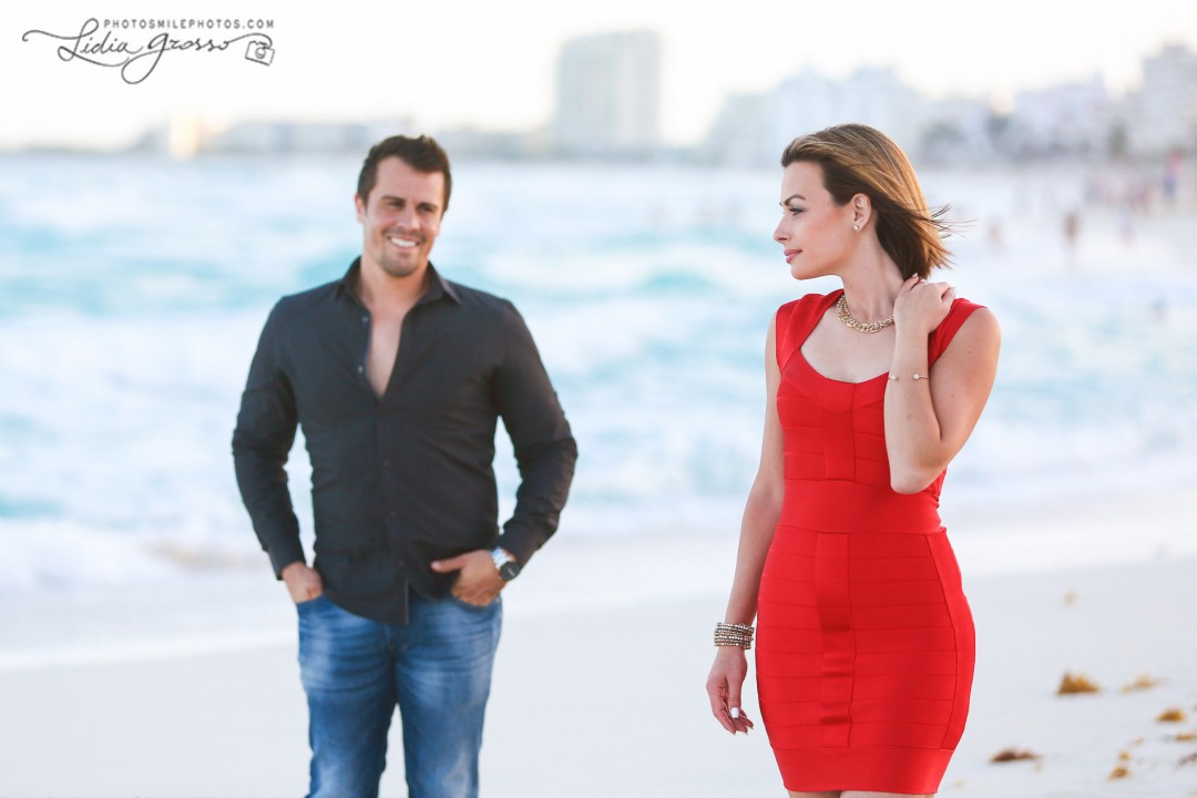 engagement sessions Playa Delfines