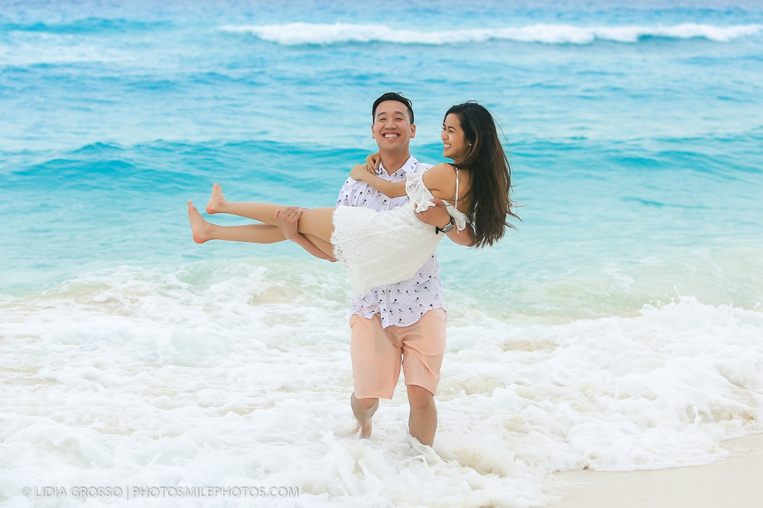 couples portraits Cancun