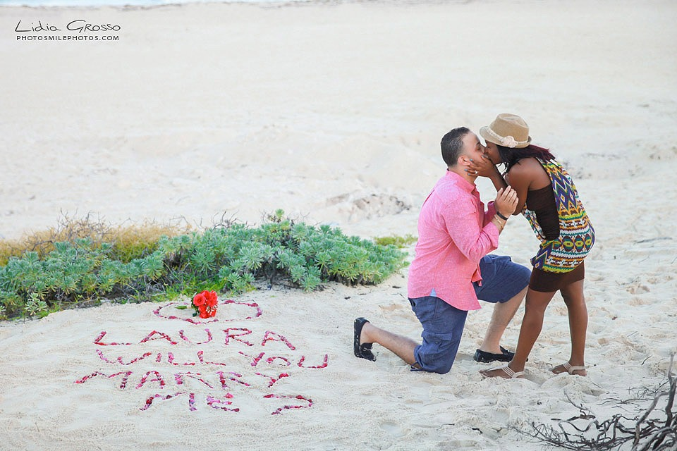 Beach Wedding Proposals Cancun
